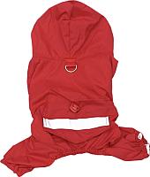 Дождевик для животных Allfordogs 01739 (XXL, красный) -