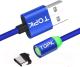 Кабель Topk AM37 USB Type-C (1м, синий) -