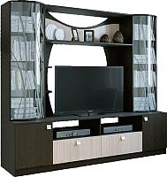 Стенка SV-мебель Гамма 15 Ж (дуб венге/дуб млечный) -