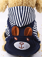 Комбинезон для животных Allfordogs Зайка / 02005 (XL, с капюшоном) -