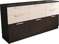 Комод SV-мебель Ж №1 (дуб венге/дуб млечный) -