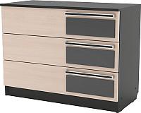 Комод SV-мебель Спальня Эдем 2 Ж (дуб венге/дуб млечный) -
