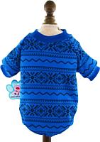 Толстовка для животных Allfordogs Альпы / 00372 (XL, синий) -