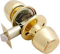 Ручка дверная Аллюр 5564 PS PB / 1210 (латунь) -