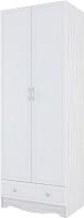 Шкаф SV-мебель Акварель 1 (ясень анкор светлый/белый матовый) -
