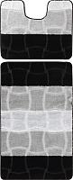Набор ковриков Maximus Sariyer 2513 50x80/40x50 (черный) -