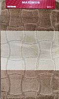 Набор ковриков Maximus Sariyer 2546 50x80/40x50 (светло-коричневый) -