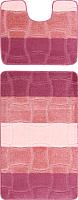 Набор ковриков Maximus Sariyer 2580 60x100/50x60 (пыльная роза) -