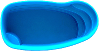 Пруд декоративный Polimerlist Премиум 6500С (синий) -