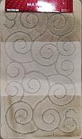 Набор ковриков Maximus Sile 2540 50x80/40x50 (бежевый) -