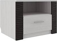 Прикроватная тумба SV-мебель Гамма 20 Ж (ясень анкор светлый/венге) -