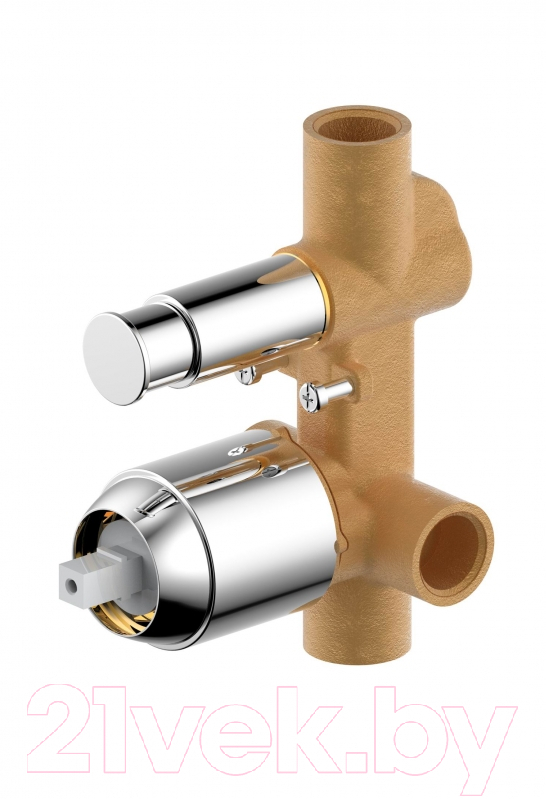 Купить Встроенный механизм смесителя Bravat, Phillis D9100CP-ENG, Германия, латунь