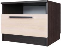 Прикроватная тумба SV-мебель Спальня Эдем 2 Ж (дуб венге/дуб млечный) -