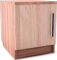 Прикроватная тумба SV-мебель Спальня Эдем 5 Ж (ясень шимо темный/ясень шимо светлый) -