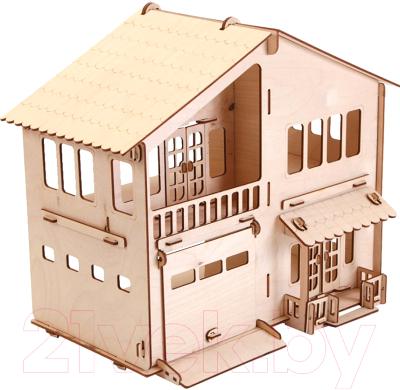 Сборная игрушка POLLY Дом с гаражом