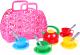 Набор игрушечной посуды ТехноК Корзинка с набором посуды / 1608 -