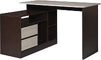 Письменный стол Мебель-Класс Имидж-3 (венге/дуб шамони) -