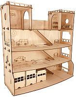 Сборная игрушка POLLY Парковка сервис парк -