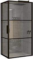 Душевой уголок Riho Grid GB203 / GB2110080 (110x80, черный/прозрачный) -