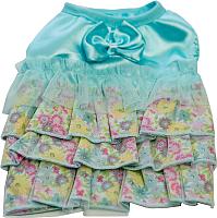 Платье для животных Allfordogs Бантик / 00818 (8, голубой) -