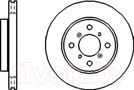 Купить Тормозной диск Bosch, 0986478415, Германия