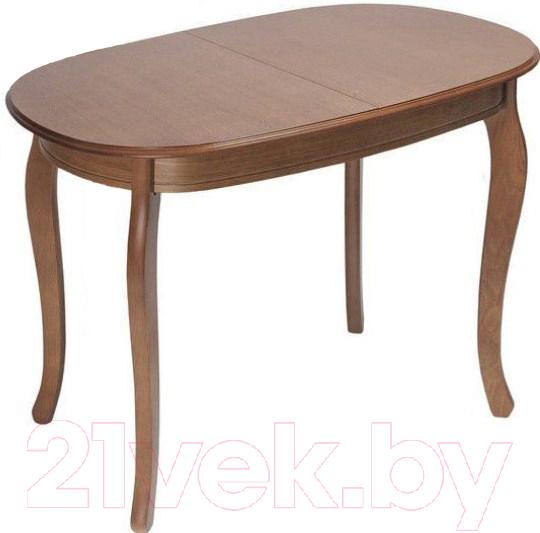 Купить Обеденный стол ТехКомПро, Азалия 100x70 (дуб/тон 6), Россия