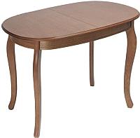 Обеденный стол ТехКомПро Азалия 100x70 (дуб/тон 6) -