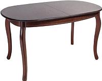 Обеденный стол ТехКомПро Азалия 1300 (дуб/тон 39) -