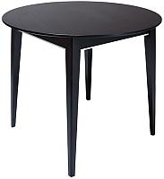 Обеденный стол ТехКомПро Арека К900 ножка 7 (дуб/тон венге) -