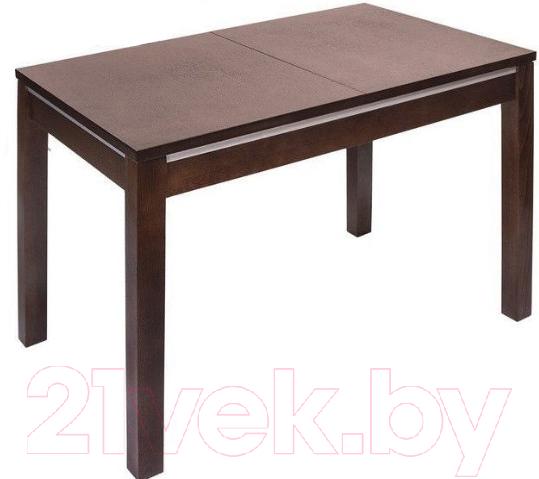 Купить Обеденный стол ТехКомПро, Жасмин 80x120-160x76 (бук/тон 39), Россия