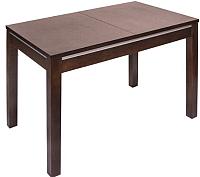 Обеденный стол ТехКомПро Жасмин 73x110-150x75 (бук/тон 39) -