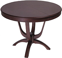 Обеденный стол ТехКомПро Камелия О (дуб/тон 39) -