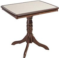 Обеденный стол ТехКомПро Эдельвейс МП с камнем (бук/тон 9) -