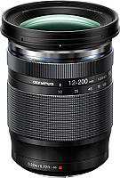Универсальный объектив Olympus M.Zuiko Digital ED 12-200 mm f3.5-6.3 (черный) -
