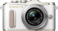 Беззеркальный фотоаппарат Olympus PEN E-PL8 Kit 14-42mm II R (белый/серебристый) -