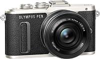 Беззеркальный фотоаппарат Olympus PEN E-PL8 Kit 14-42mm II R (черный) -
