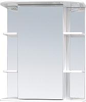 Шкаф с зеркалом для ванной Onika Глория 60.00 У (206041, без подсветки) -