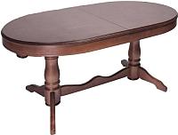 Обеденный стол ТехКомПро Нарцисс (дуб/тон 39) -