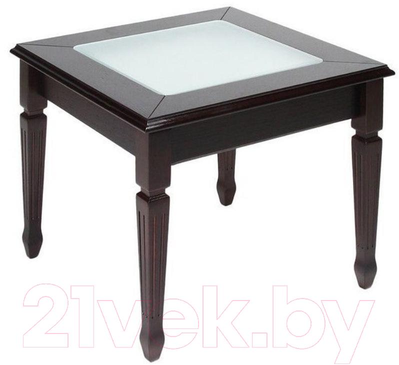 Купить Журнальный столик ТехКомПро, Пион С 600 (дуб/тон 39), Россия