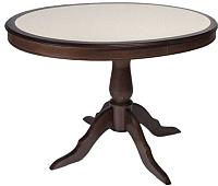 Обеденный стол ТехКомПро Эдельвейс М с камнем (бук/тон 9) -