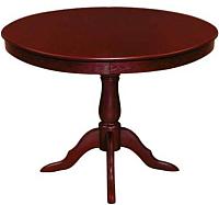 Обеденный стол ТехКомПро Эдельвейс К 900x900(1250)x750 (дуб/тон 8) -