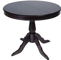 Обеденный стол ТехКомПро Эдельвейс К 1100x1100(1500)x750 (дуб/венге) -