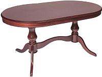 Обеденный стол ТехКомПро Юкка 900x1500(1950)x760 (дуб/тон 39) -