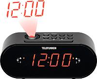 Радиочасы Telefunken TF-1506 (черный) -