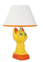 Прикроватная лампа Camelion KD-566 C07 / 12782 (желтый котенок) -