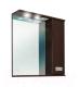 Шкаф с зеркалом для ванной Onika Балтика 65.02 R (206504, нью венге) -