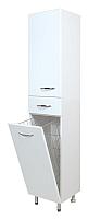 Шкаф-пенал для ванной Onika Модерн 40.17 L (404009, с корзиной) -