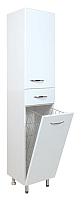 Шкаф-пенал для ванной Onika Модерн 40.17 R (404010, с корзиной) -