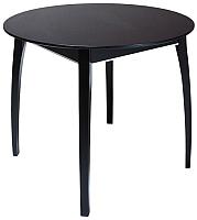 Обеденный стол ТехКомПро Арека К950 Ножка 6 (бук/тон венге) -