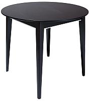 Обеденный стол ТехКомПро Арека К950 Ножка 7 (бук/тон венге) -